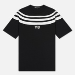 Мужская футболка Y-3 3-Stripes Black/White фото- 0