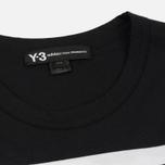 Мужская футболка Y-3 3-Stripes Black/White фото- 1