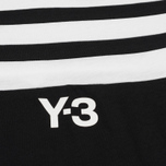 Мужская футболка Y-3 3-Stripes Black/White фото- 2
