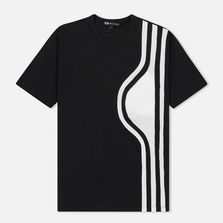 Мужская футболка Y-3 3-Stripes Chest Pocket Black