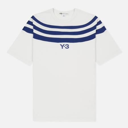 Мужская футболка Y-3 3-Stripes White/Blue