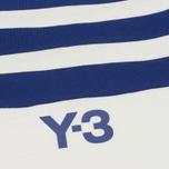 Мужская футболка Y-3 3-Stripes White/Blue фото- 2