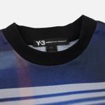 Мужская футболка Y-3 All Over Print Stripe Continuum Purple фото- 1