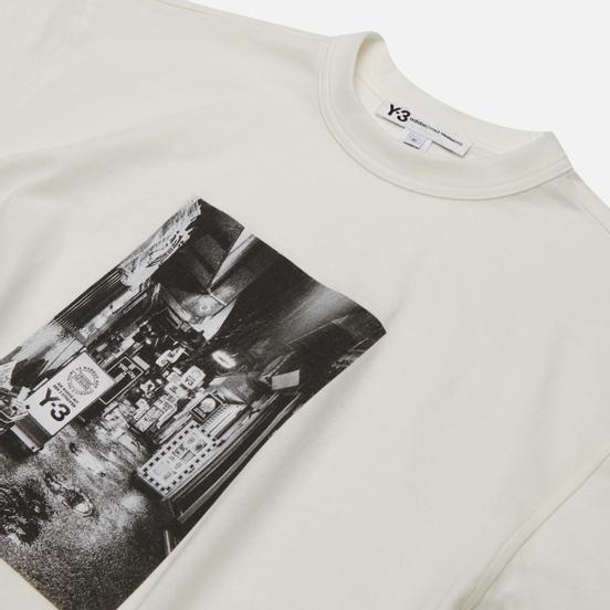 Мужская футболка Y-3 Alleway Graphic Core White