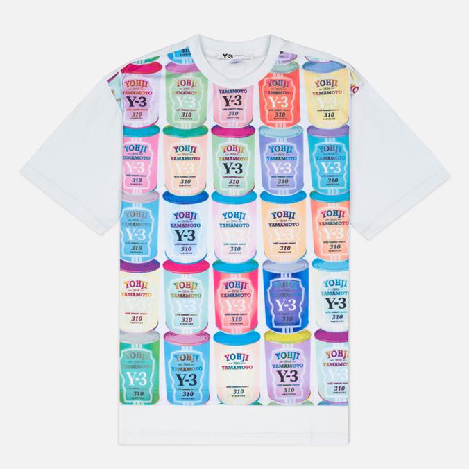 Мужская футболка Y-3 Can 3 White