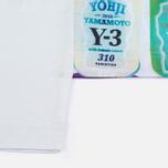 Мужская футболка Y-3 Can 3 White фото- 3