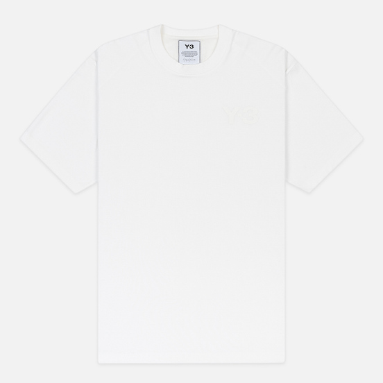 Мужская футболка Y-3 Classic Chest Logo Y-3 Core White