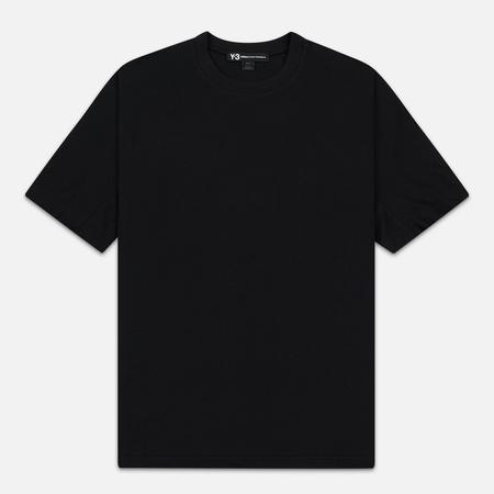 Мужская футболка Y-3 Classic Crew Back Logo Printed Black