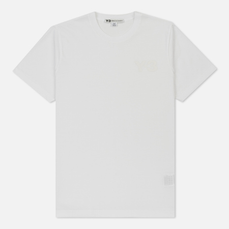 Мужская футболка Y-3 Classic Front Logo White
