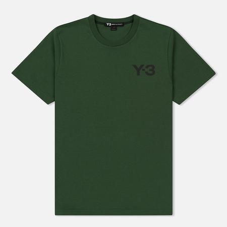 Мужская футболка Y-3 Classic Logo Field Green