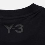 Мужская футболка Y-3 Classic Logo Round Neck Utility Black фото- 3