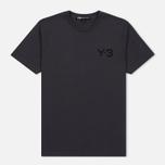 Мужская футболка Y-3 Classic Logo Round Neck Utility Black фото- 0