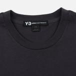 Мужская футболка Y-3 Classic Logo Round Neck Utility Black фото- 1