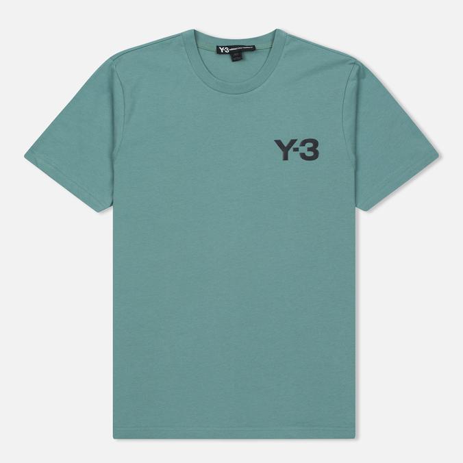 Мужская футболка Y-3 Classic Logo Round Neck Vapour Steel
