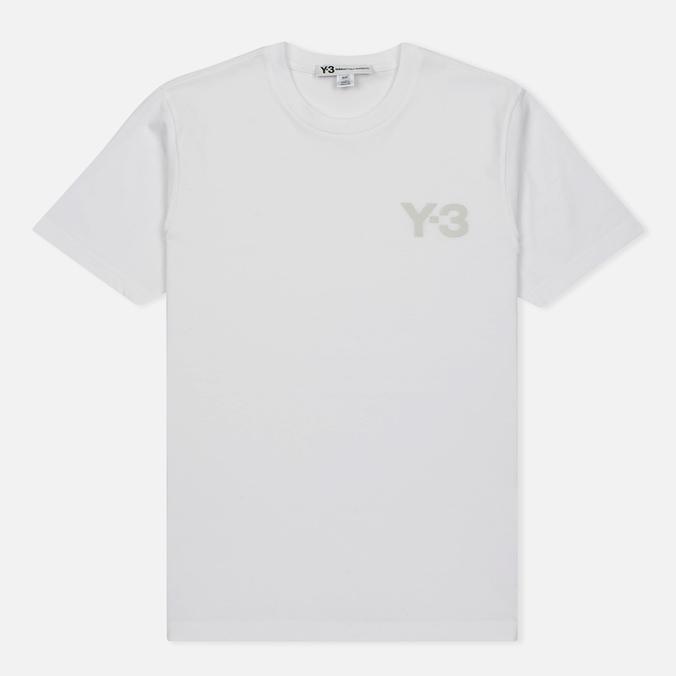 Мужская футболка Y-3 Classic Logo Round Neck White