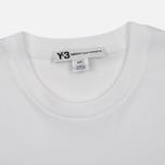 Мужская футболка Y-3 Classic Logo Round Neck White фото- 1