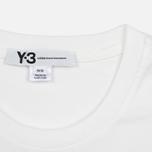 Мужская футболка Y-3 Classic Logo White фото- 2
