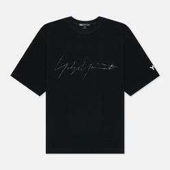 Мужская футболка Y-3 Distressed Signature Black