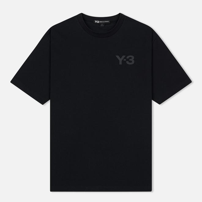 Мужская футболка Y-3 Double Logo Black