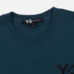 Мужская футболка Y-3 M Classic Logo Midnight фото- 1