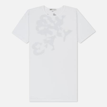 Мужская футболка Y-3 Shattered Back Logo White