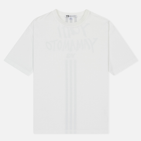 Мужская футболка Y-3 Signature Graphic Core White