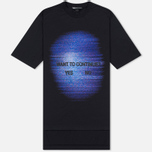 Мужская футболка Y-3 TV Continue Black фото- 0