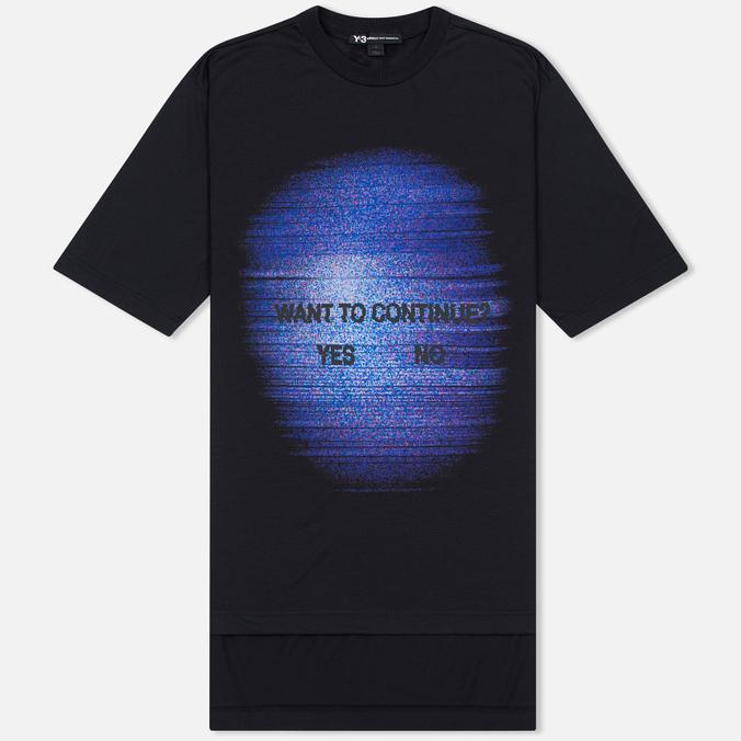 Мужская футболка Y-3 TV Continue Black