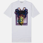 Мужская футболка Y-3 Alien Print White фото- 0