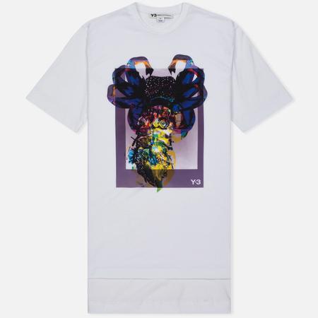 Мужская футболка Y-3 Alien Print White