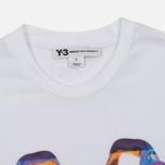 Мужская футболка Y-3 Alien Print White фото- 1