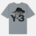 Мужская футболка Y-3 Yohji Skull Kumo Grey фото- 1