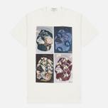 Мужская футболка YMC Ann Gollifer 1 Multi фото- 0