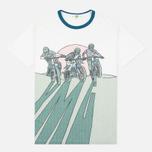 Мужская футболка YMC Bike Shadow White фото- 0