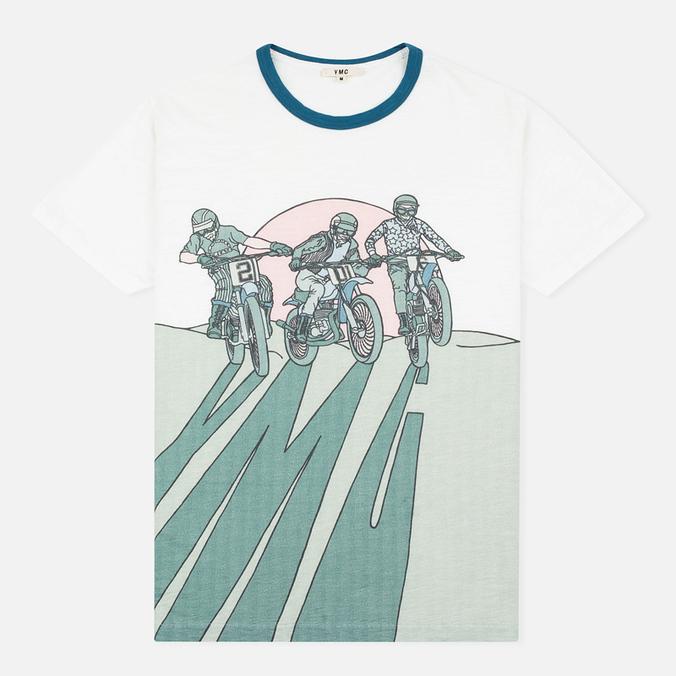 Мужская футболка YMC Bike Shadow White