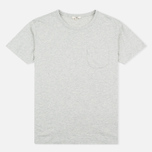 Мужская футболка YMC Classic Pocket Grey фото- 0