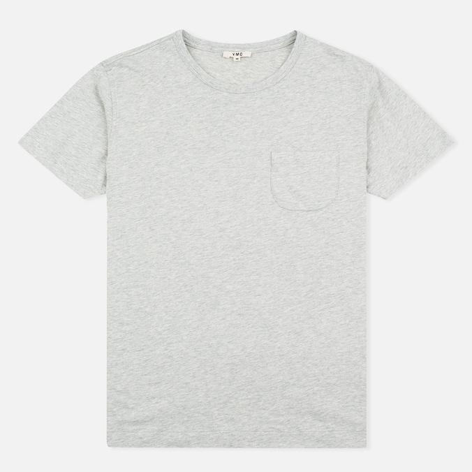 Мужская футболка YMC Classic Pocket Grey