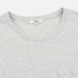 Мужская футболка YMC Classic Pocket Grey фото- 1
