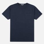 Мужская футболка YMC Classic Pocket Navy фото- 0