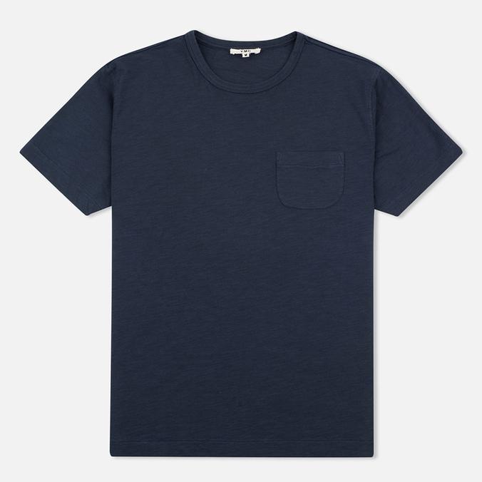 Мужская футболка YMC Classic Pocket Navy