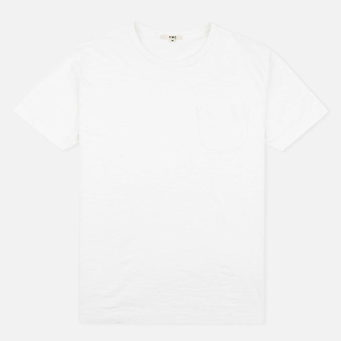 Мужская футболка YMC Classic Pocket White