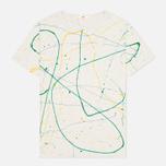 Мужская футболка YMC Flick Paint Grey фото- 0