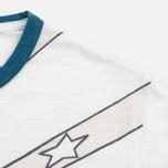 Мужская футболка YMC Fro Girl White фото- 3