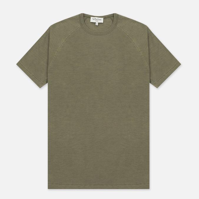 Мужская футболка YMC Television Raglan Olive
