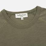 Мужская футболка YMC Television Raglan Olive фото- 1