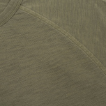 Мужская футболка YMC Television Raglan Olive фото- 2