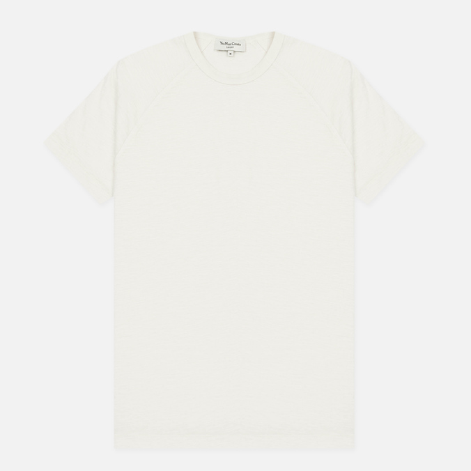 Мужская футболка YMC Television Raglan White