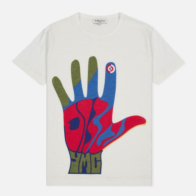 Мужская футболка YMC Hamsa Psych White