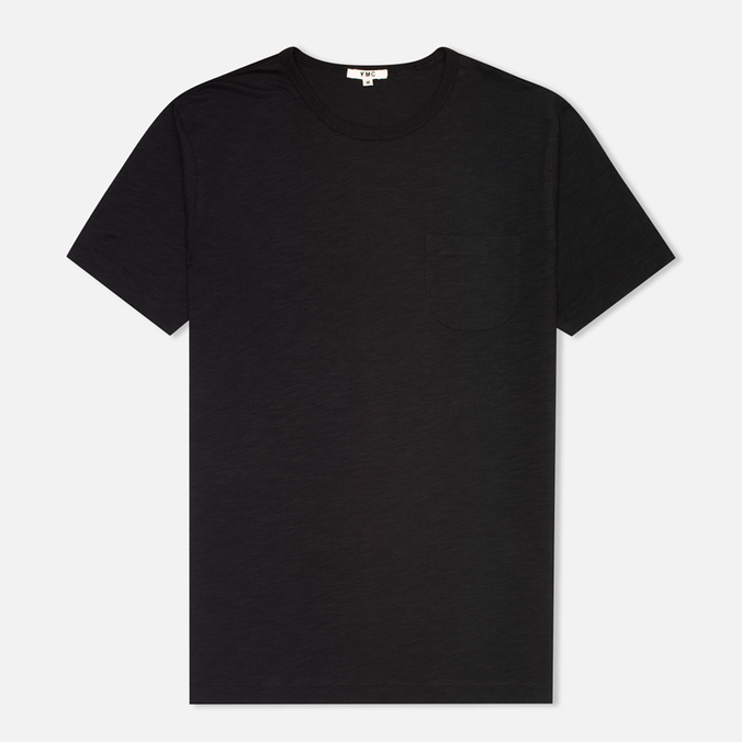 YMC Pocket Men's T-shirt Black