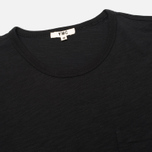 YMC Pocket Men's T-shirt Black photo- 1